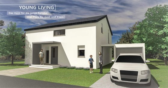 Moselbau GmbH Musterhaus Young Living